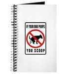 dog poop scoop Journal