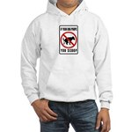 dog poop scoop Hooded Sweatshirt