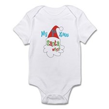 Cute Babies 1st christmas Infant Bodysuit