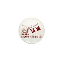Nice List Ya Ya Mini Button (10 pack)