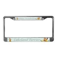 Lakeland Holiday Santa License Plate Frame