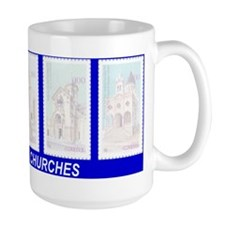 ARMENIAN CHURCHES Mug (blue)