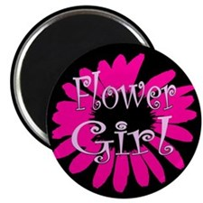 "Flower Girl 2.25"" Magnet (100 pack)"