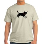 Playful Black Lab Light T-Shirt