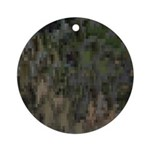 Custom Digital Camoflauge Ornament (Round)