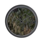 Custom Digital Camoflauge Wall Clock