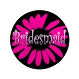 "Bridesmaid 3.5"" Button (100 pack)"