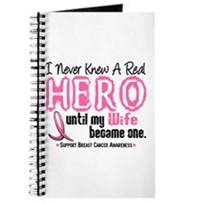 Never Knew A Hero 4 PINK (Wife) Journal