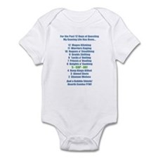 12 Days of Questing Infant Bodysuit