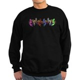 Colorful Kokopelli Banner Jumper Sweater