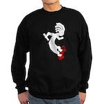 Kokopelli Skateboard Sweatshirt (dark)