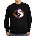 Kokopelli Yin Yang Sweatshirt (dark)