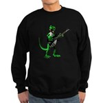 Electric Guitar Gecko Sweatshirt (dark)