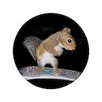 """Surfer Squirrel 3.5"""" Button"""