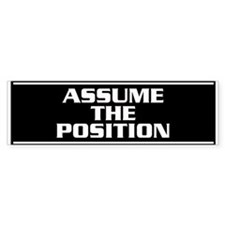 Position Bumper Sticker