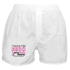 Never Knew A Hero 4 PINK (Daughter) Boxer Shorts