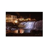 Falls Park 3 Rectangle Magnet (10 pack)
