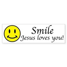 Smile Jesus Bumper Sticker (10 pk)