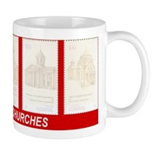 ARMENIAN CHURCHES Mug (garnet)