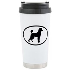 Poodle Ceramic Travel Mug