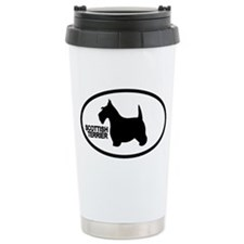 Scottish Terrier Ceramic Travel Mug