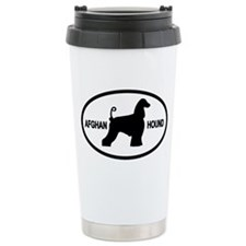 Afghan Hound Ceramic Travel Mug