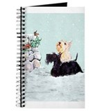 Scottish Terrier Winter Journal
