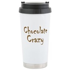 Chocolate Crazy Ceramic Travel Mug