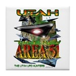 Utah The New Area 51 Tile Coaster
