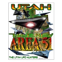 Utah The New Area 51 Posters