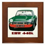 Cool Mg race car Framed Tile