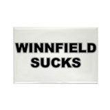 WINNFIELD SUCKS Rectangle Magnet (10 pack)