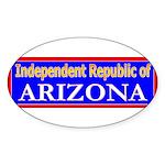 Arizona-2 Oval Sticker
