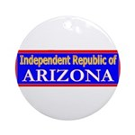 Arizona-2 Ornament (Round)