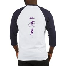Triathlon Sports (Vertical) Baseball Jersey