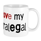 I love my Paralegal Small Mug