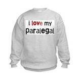 I love my Paralegal Sweatshirt