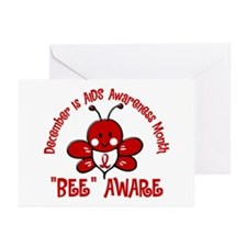 AIDS Awareness Month 4.2 Greeting Cards (Pk of 10)