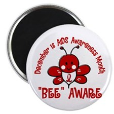 "AIDS Awareness Month 4.2 2.25"" Magnet (100 pack)"