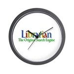 Librarian - Original Search Engine Wall Clock