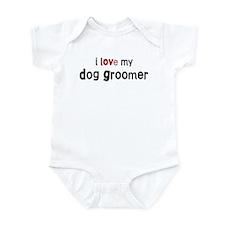 I love my Dog Groomer Onesie