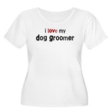 I love my Dog Groomer T-Shirt