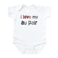 I love my Au Pair Infant Bodysuit