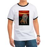Rasta Lion Ringer T