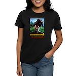 Dreadlock Rasta Art Women's Dark T-Shirt