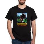 Dreadlock Rasta Art Dark T-Shirt