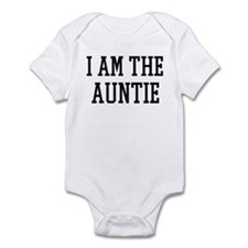 I am the Auntie Infant Bodysuit