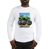Green Early Bronco Long Sleeve T-Shirt