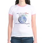 Power of Love Jr. Ringer T-Shirt