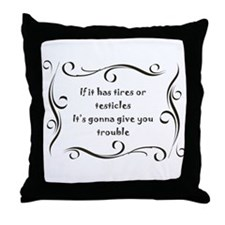 Unique Menopause Throw Pillow
